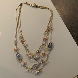 Gold & Gem layered Necklace